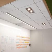Lightplane 3.5 Wall Washer (LP3.5WW)), Recessed Lytespot (RCST), SAP Labs, Norcal, Reel Grobman Associates, San Jose, CA