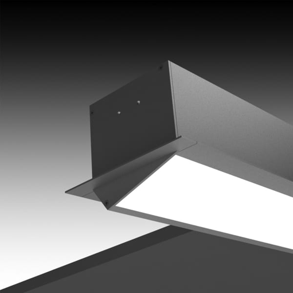 Recessed Lights Wall Washer : ALW Architectural Lighting Works - LIGHTPLANE 3.5 RECESSED WALL WASHER LP3.5RWWT