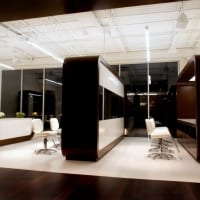 LP 2 Lightbar (LP2LB), Sally Hershberger Salon, Los Angeles, Sean O'Connor Lighting, CA