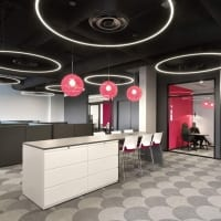 MoonRing One Point Five (MR1.5), Joule Headquarters, Ontario, Canada – Chmiel Architects Incorporated, Flux Lighting (lighting design, rep)