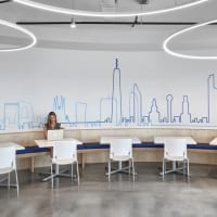 MoonRing (LP1/MR1), Atos North American Headquarters, Irving, TX – Architects: Gensler, Lighting Rep: Architectural Lighting Alliance