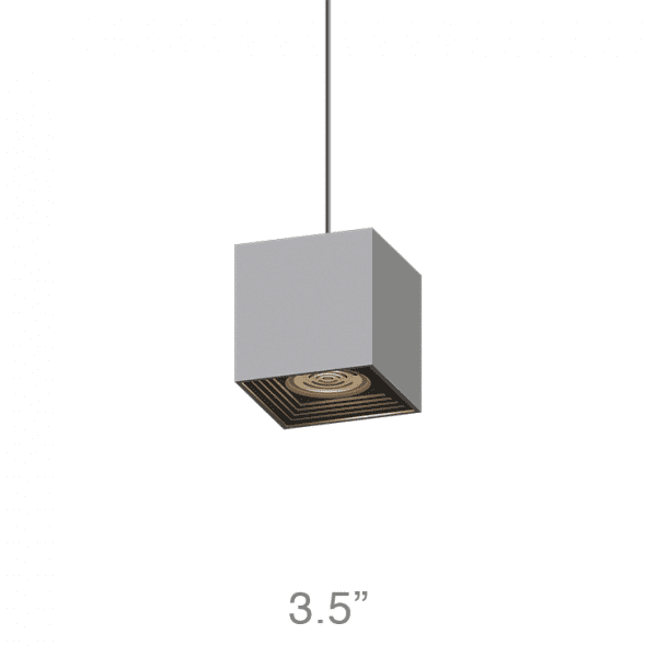NOVA Medium Square Pendant (NMSP)