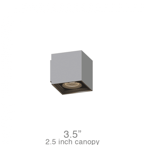 NOVA Medium Square Sconce (NMSS)