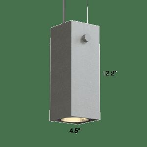 QUBE 300 LX Up + Down Pendant (Q3LT)