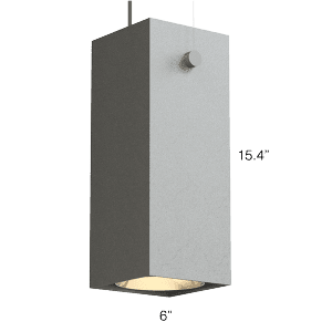 QUBE 400 LX Up + Down Pendant (Q4LT)