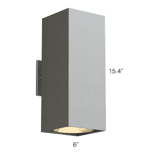 QUBE 400 LX Up + Down Sconce (Q4LU)
