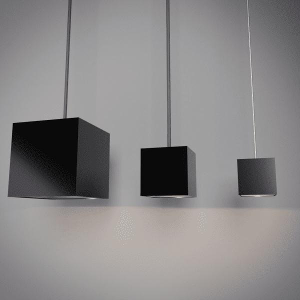 Model Square Pendant