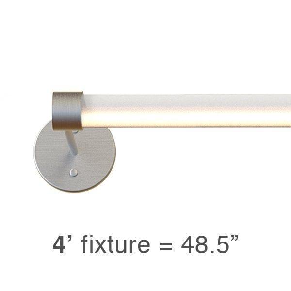 BRIO L2 Sconce: 4′ (BL2S)
