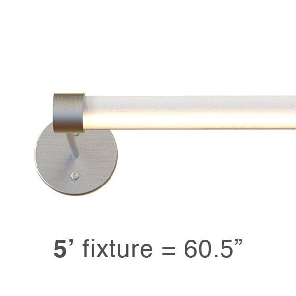 BRIO L2 Sconce: 5′ (BL2S)